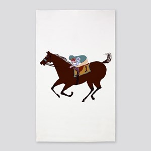 The Racehorse Area Rug