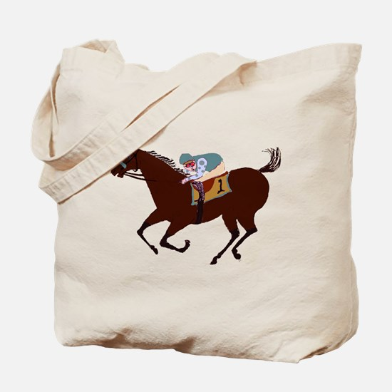 The Racehorse Tote Bag