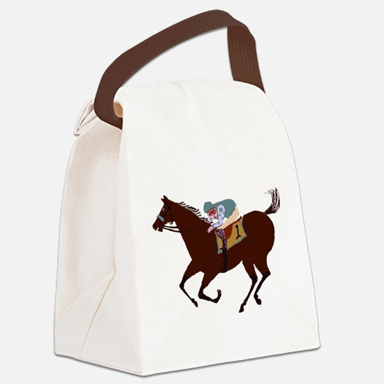 The Racehorse Canvas Lunch Bag