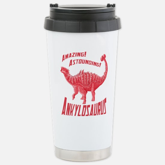 Red Ankylosaurus Mugs