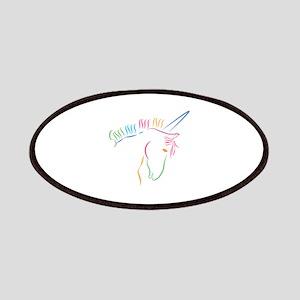 Unicorn Outline Patch