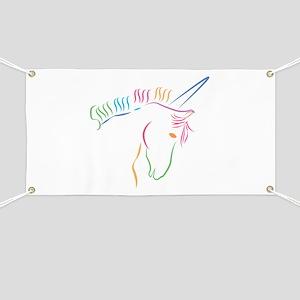 Unicorn Outline Banner
