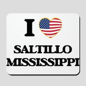 I love Saltillo Mississippi Mousepad