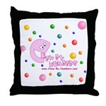 Chew-By-Numbers - Throw Pillow