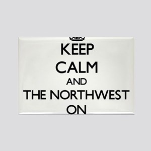 Keep Calm and The Northwest ON Magnets