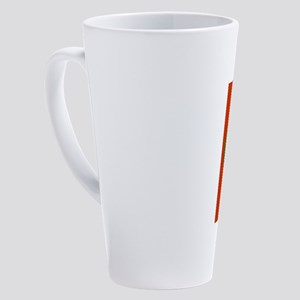 Christmas Dump Trump 17 oz Latte Mug