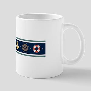 Sailing Border Mugs