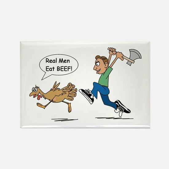 Funny Thanksgiving Rectangle Magnet (100 pack)