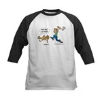 Funny Thanksgiving Kids Baseball Jersey