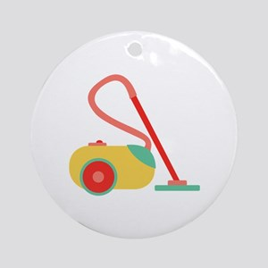 Vacuum Cleaner Ornament (Round)