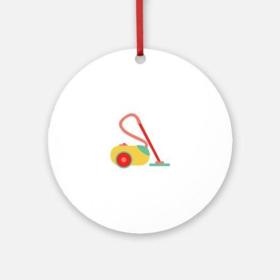 Vacuum Cleaner Ornament (Round)