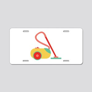 Vacuum Cleaner Aluminum License Plate