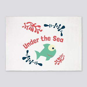 Under The Sea 5'x7'Area Rug