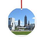 Cleveland Ornament (Round)