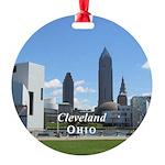 Cleveland Round Ornament
