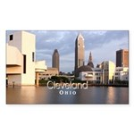 Cleveland Sticker (Rectangle 50 pk)