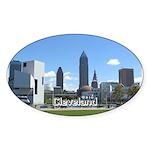 Cleveland Sticker (Oval 50 pk)