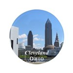 """Cleveland 3.5"""" Button (100 pack)"""