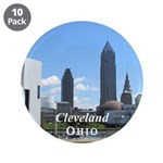"""Cleveland 3.5"""" Button (10 pack)"""