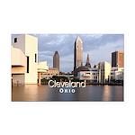 Cleveland Rectangle Car Magnet