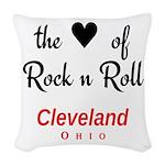 Cleveland Woven Throw Pillow