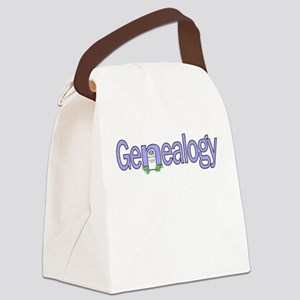 Genealogy Tombstone Canvas Lunch Bag