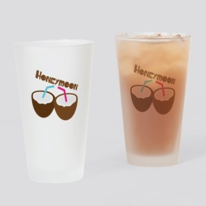 Honeymoon Drinking Glass