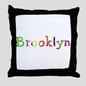 Brooklyn Balloons Throw Pillow