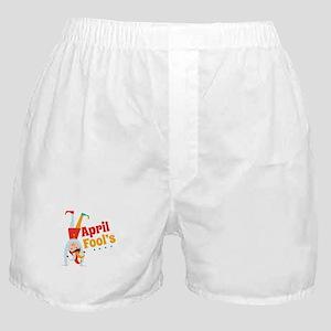 April Fools Boxer Shorts