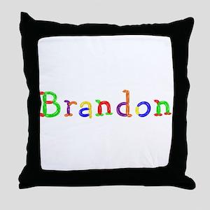 Brandon Balloons Throw Pillow