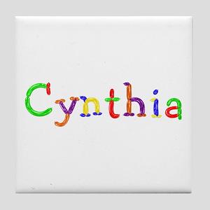 Cynthia Balloons Tile Coaster