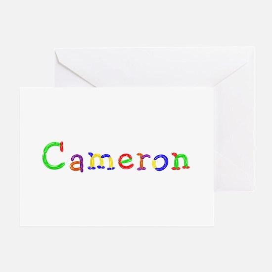 Cameron Balloons Greeting Card
