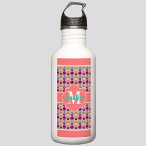 Coral Trim Personalize Stainless Water Bottle 1.0L
