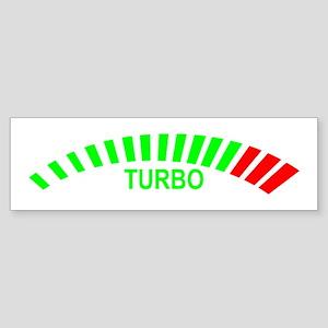 Turbo Bumper Sticker