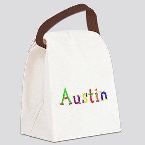 Austin Balloons Canvas Lunch Bag