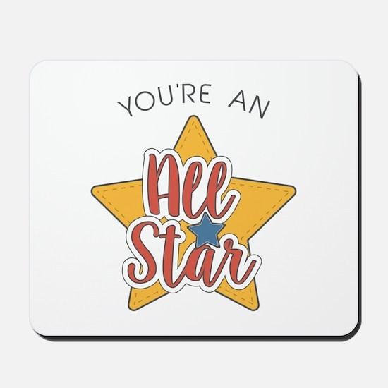 An All Star Mousepad