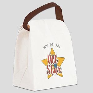 An All Star Canvas Lunch Bag