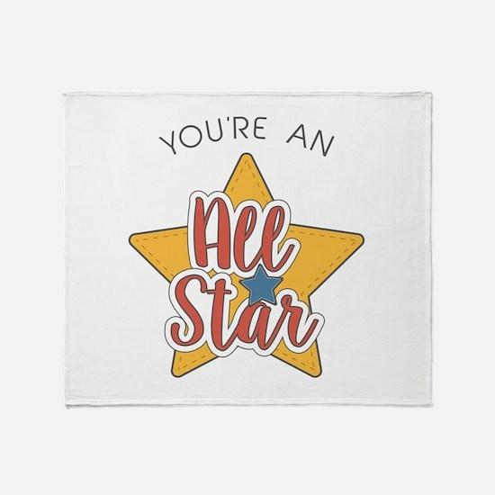 An All Star Throw Blanket