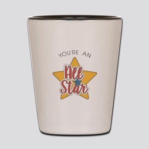 An All Star Shot Glass