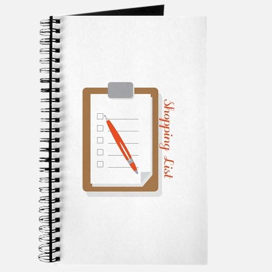 Shopping List Journal
