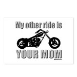 My other ride is your mom Postcards (Package of 8)