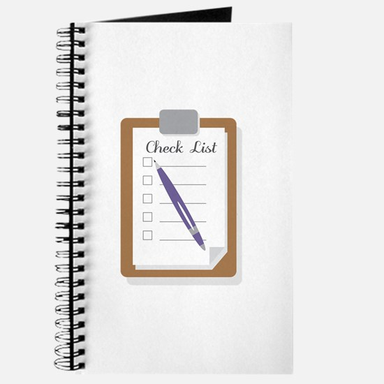 Check List Journal