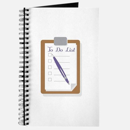 To Do List Journal