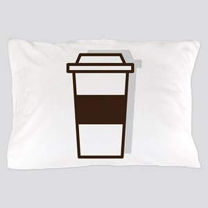 Coffee To Go Pillow Case