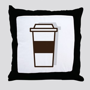 Coffee To Go Throw Pillow