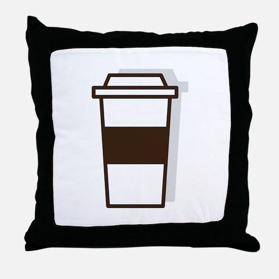 Coffee To Go Throw Pillow