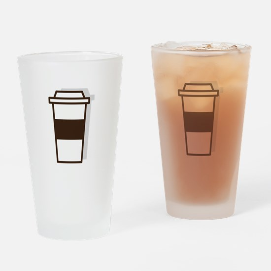 Coffee To Go Drinking Glass