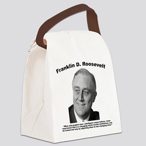 FDR: Change Canvas Lunch Bag