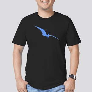 Pterodactyl Silhouette (Blue) T-Shirt