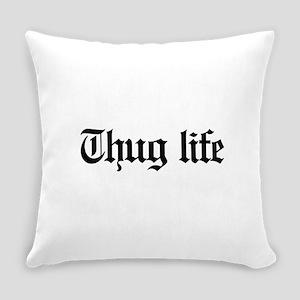 thug life, gangster, baby, g, thug Everyday Pillow